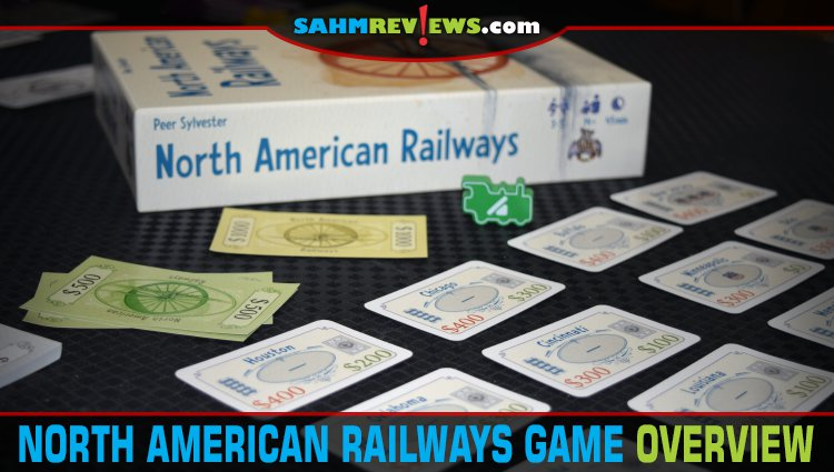North American Railways Card Game Overview