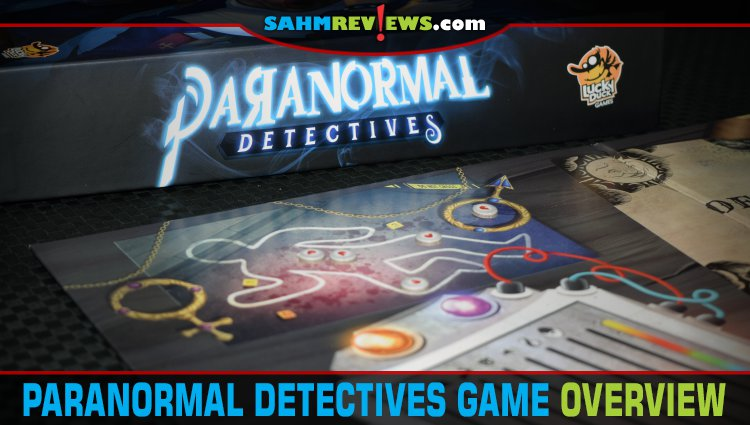 Paranormal Detectives Deduction Game Overview