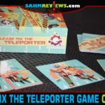 If you don't unscramble the transmission, you'll be responsible for the mixup. See how quick you are in Please Fix the Teleporter by Gravitation Games! - SahmReviews.com