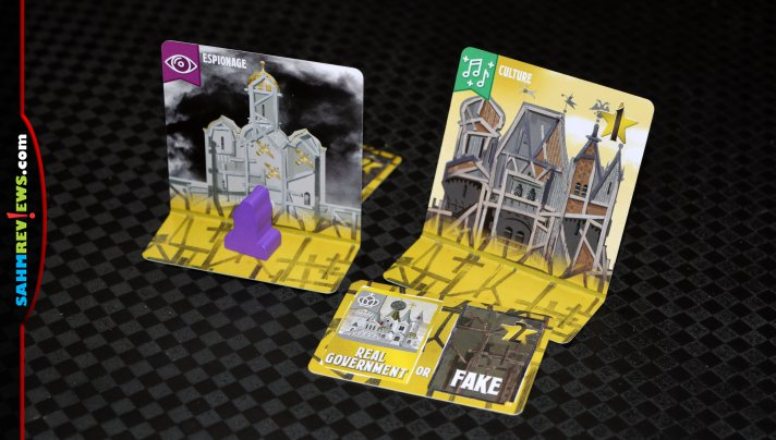 This city-building game isn't quite like others of the same genre. True to the name, Potemkin Empire from Indie Boards & Cards is about fake buildings! - SahmReviews.com
