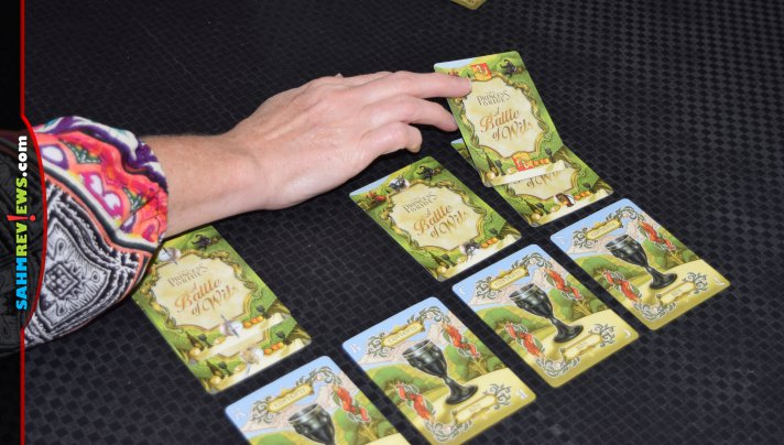 Do you enjoy the scene from The Princess Bride where they're deciding which goblet to drink? Live out A Battle of Wits in this card game from Sparkworks. - SahmReviews.com