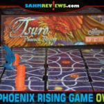 If you find yourself knocked out of Tsuro: Phoenix Rising from Calliope Games, all you have to do is rise up from the ashes and try again! - SahmReviews.com