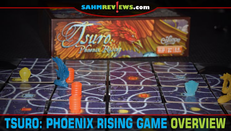 Tsuro: Phoenix Rising Tile-Laying Game Overview
