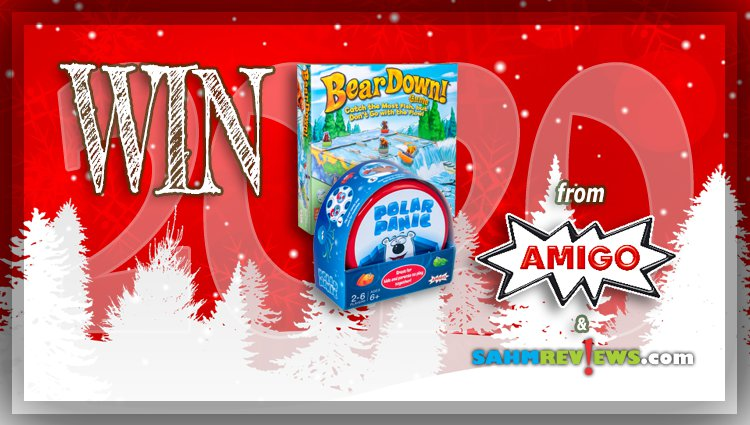 Holiday Giveaways 2020 – Polar Panic & Bear Down Games by AMIGO