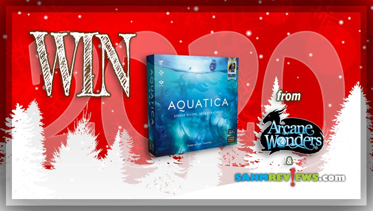 Holiday Giveaways 2020 – Aquatica Game by Arcane Wonders