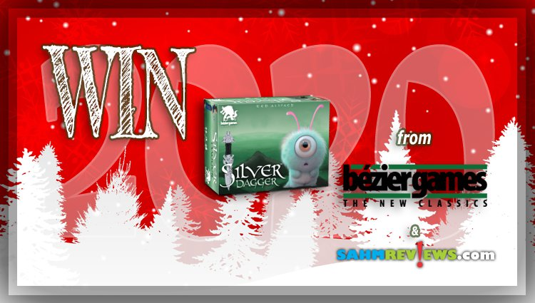 Holiday Giveaways 2020 – Silver Dagger Game by Bezier Games