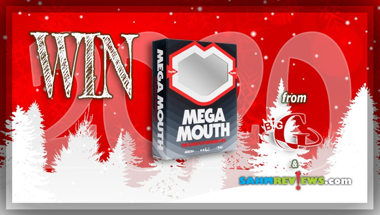 Holiday Giveaways 2020 – Mega Mouth Game by Big G Creative
