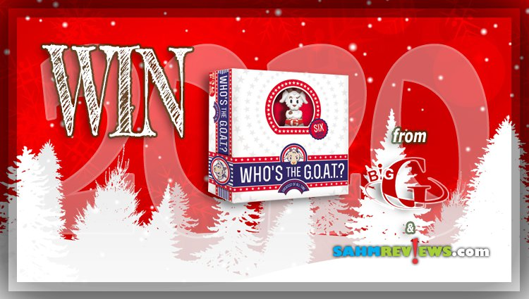 Holiday Giveaways 2020 – Who's the G.O.A.T? Game by Big G Creative