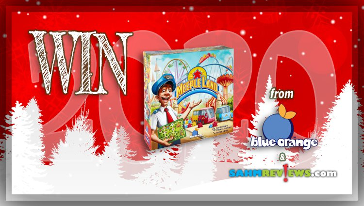 Holiday Giveaways 2020 – Meeple Land Game Prize Package by Blue Orange Games