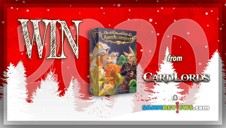 Holiday Giveaways 2020 – Animalchemists Game by CardLords