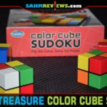 With 2 trillion combinations, we thought Color Cube Sudoku would be impossible to solve. We got this Thrift Treasure down to under 3 minutes!