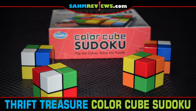 Thrift Treasure: Color Cube Sudoku