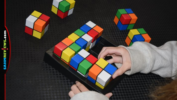 With 2 trillion combinations, we thought Color Cube Sudoku would be impossible to solve. We got this Thrift Treasure down to under 3 minutes! - SahmReviews.com
