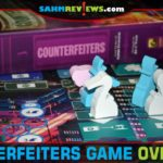Launder your money and keep the lion's share from the Godfather in Counterfeiters by Quined Games. Find out why we think this small box holds a LOT of game! - SahmReviews.com