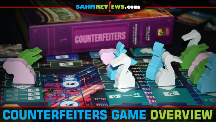 Counterfeiters Worker Placement Game Overview
