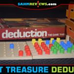 We would describe Deduction as a game that combines Mastermind with Battleship. It only set us back $1.88 at our Goodwill. Check out this week's Thrift Treasure find! - SahmReviews.com