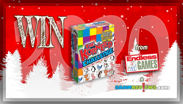 Holiday Giveaways 2020 – The Korner'd Challenge Game by Endless Games