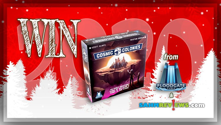 Holiday Giveaways 2020 – Cosmic Colonies Game by Floodgate Games