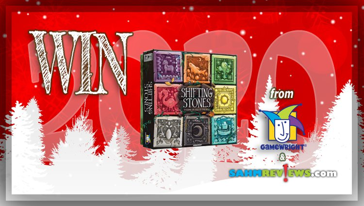 Holiday Giveaways 2020 – Shifting Stones Game by Gamewright
