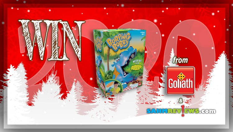 Holiday Giveaways 2020 – Burping Bobby Game by Goliath Games