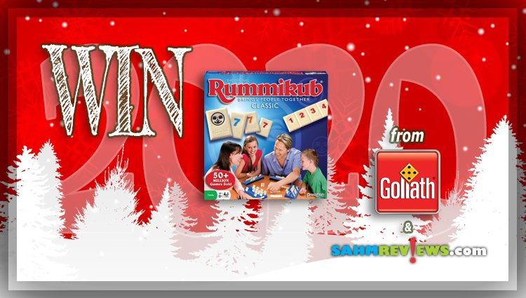 Holiday Giveaways 2020 – Rummikub Deluxe Game by Goliath Games