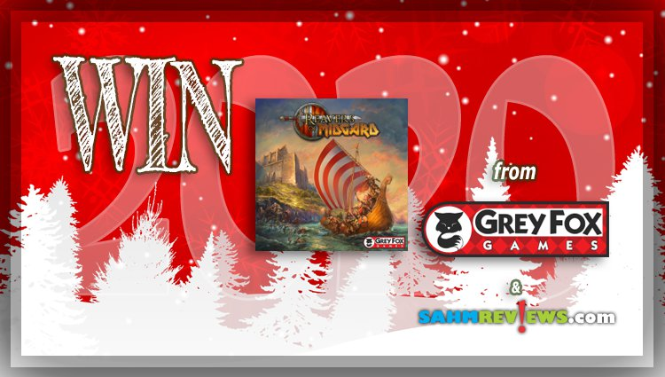 Holiday Giveaways 2020 – Reavers of Midgard Game by Grey Fox Games