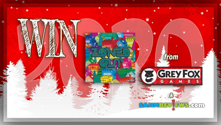 Holiday Giveaways 2020 – Zoned Out Game by Grey Fox Games