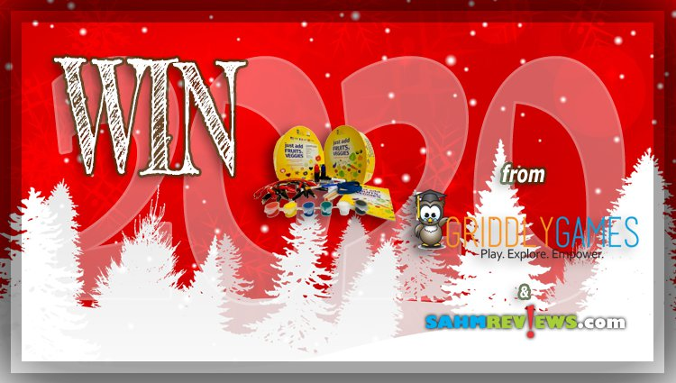 """Holiday Giveaways 2020 – $100 """"Just Add"""" Prize Package by Griddly Games"""