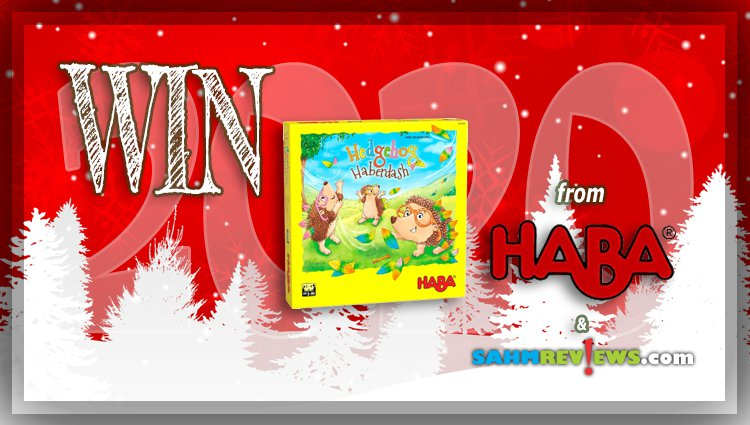 Holiday Giveaways 2020 – Hedgehog Haberdash Game by HABA