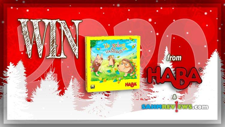 Holiday Giveaways 2020 – Hedgehog Haberdash Game by HABA