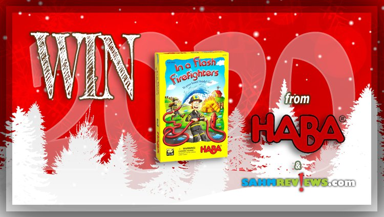 Holiday Giveaways 2020 – In a Flash! Firefighters Game by HABA