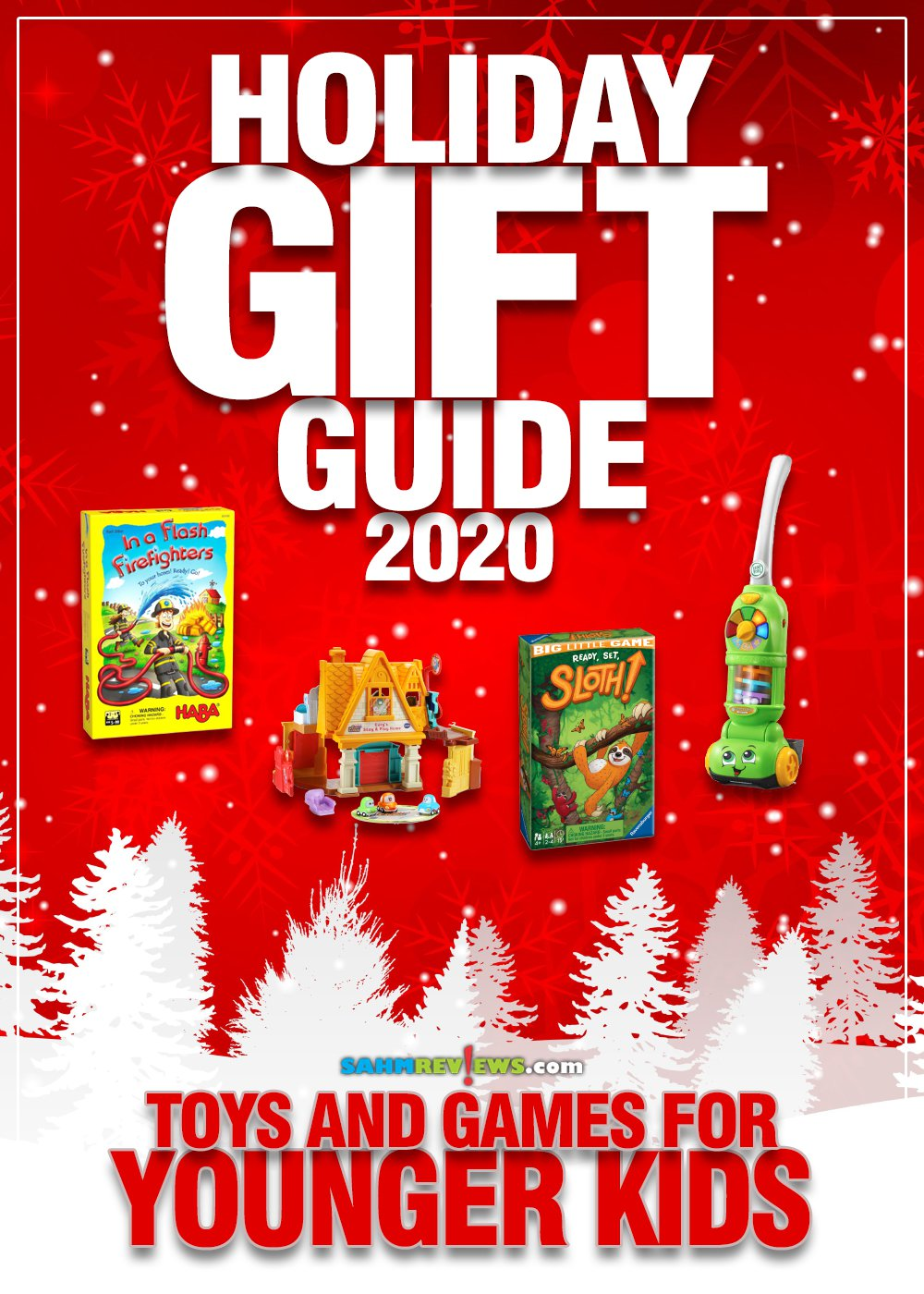 So many choices for young kids in the toy & game aisle. Here are our picks that will certainly please in our Toys & Games for Younger Kids Gift Guide! - SahmReviews.com