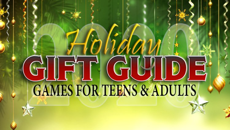 Older Kids and Adults Enjoy Games Too! Reference This List While Shopping!