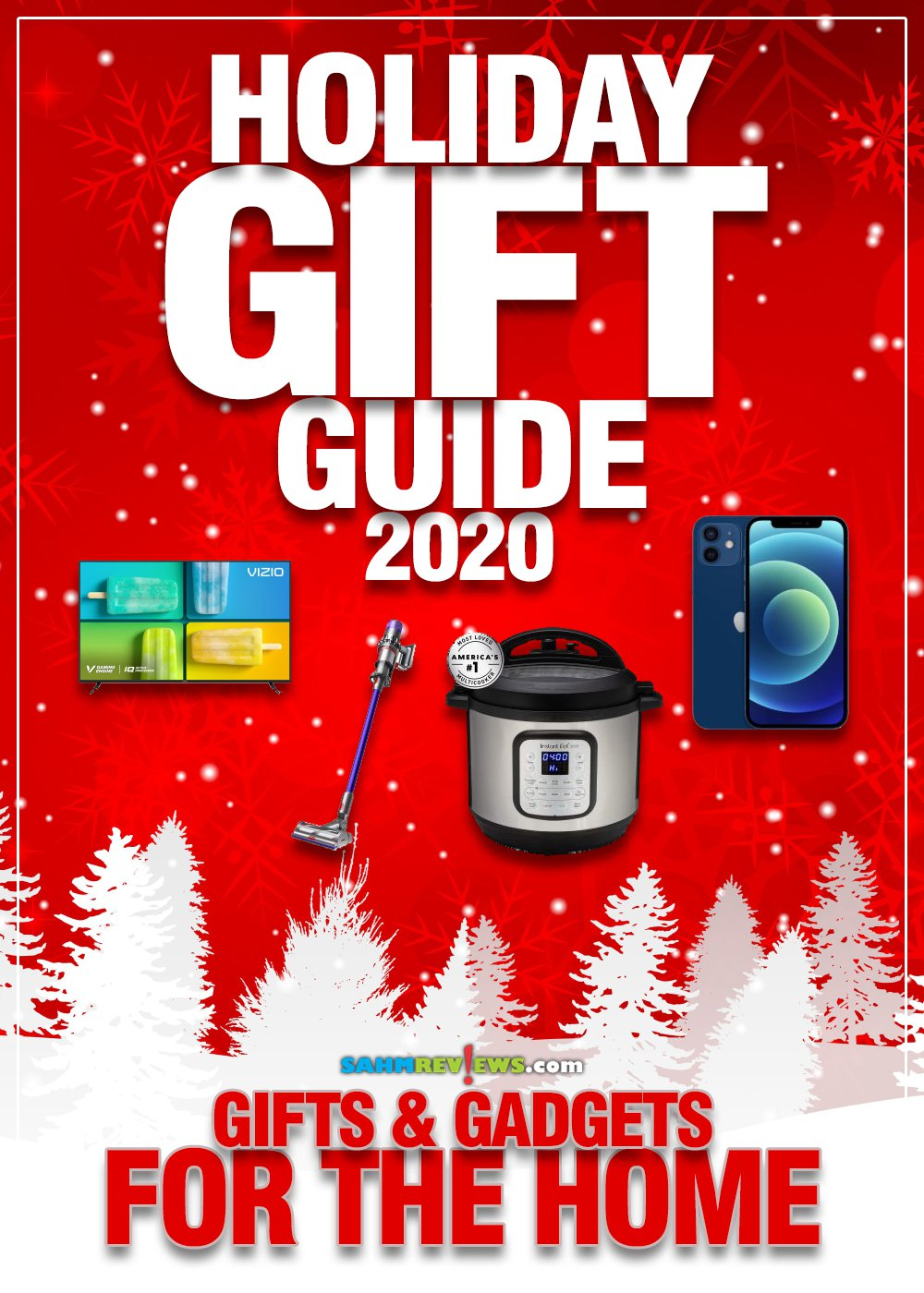 Looking for gift ideas for the home or maybe even electronic gadgets? We've got the full list of what everyone wants under the tree this year! - SahmReviews.com