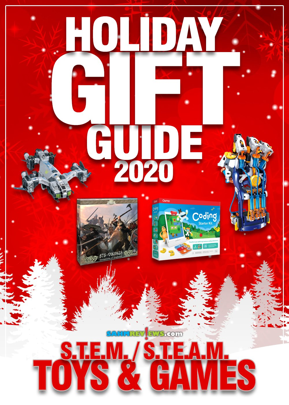 Toys and games don't have to be just about fun. They can also offer a learning experience. Like these items in our 2020 S.T.E.M. Holiday Gift Guide! - SahmReviews.com