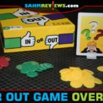 In Or Out is a trivia-based party game from R&R Games where knowing what is not the right answer is as important as knowing what is. - SahmReviews.com