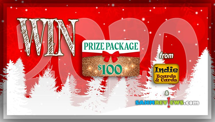 Holiday Giveaways 2020 – $100 Mystery Board Game Package by Indie Boards & Cards