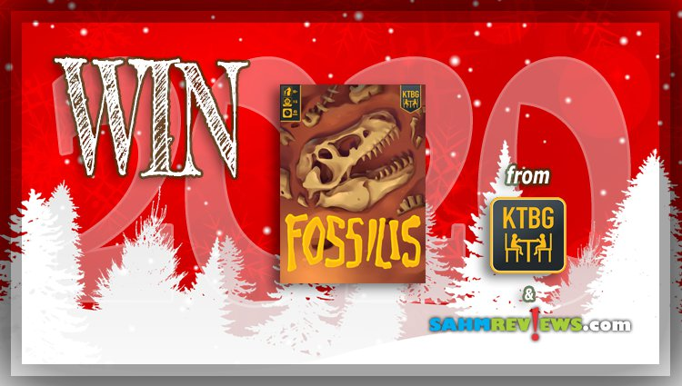 Holiday Giveaways 2020 – Fossilis Game (AUTOGRAPHED) by KTBG