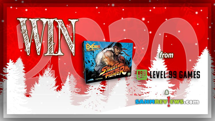 Holiday Giveaways 2020 – Exceed: Street Fighter Game by Level 99 Games
