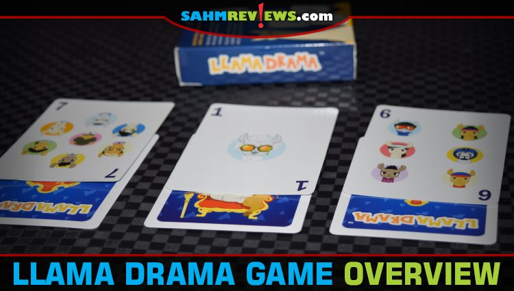 Llama Drama Card Game Overview