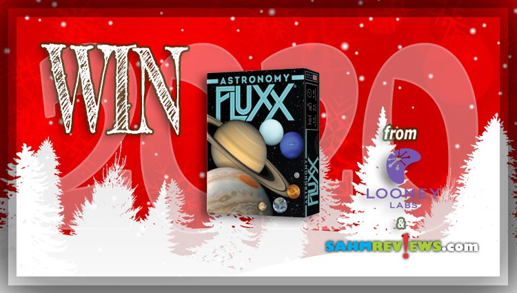 Holiday Giveaways 2020 – Astronomy Fluxx Game by Looney Labs