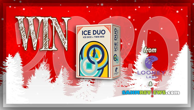 Holiday Giveaways 2020 – Ice Duo Game by Looney Labs