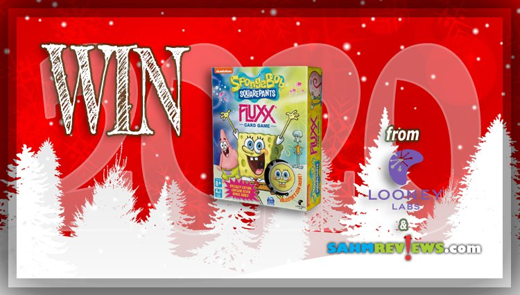 Holiday Giveaways 2020 – SpongeBob SquarePants Fluxx Game by Looney Labs