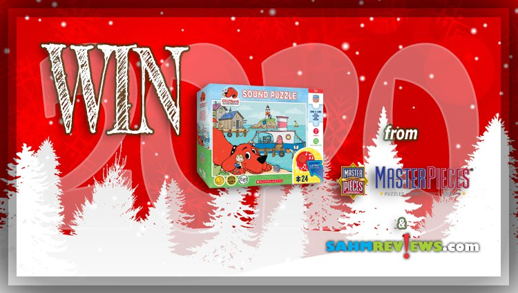 Holiday Giveaways 2020 – Clifford the Big Red Dog Prize Package by MasterPieces, Inc.