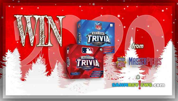 Holiday Giveaways 2020 – MLB & NFL Trivia Games by MasterPieces, Inc.