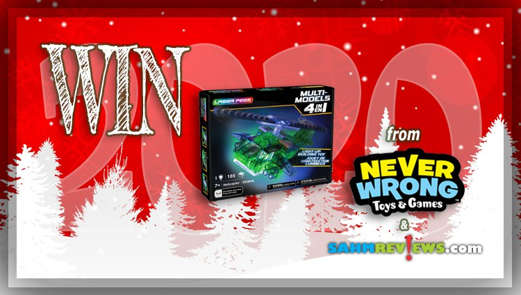 Holiday Giveaways 2020 – Laser Pegs Helicopter 4-in-1 Kit by Never Wrong Toys