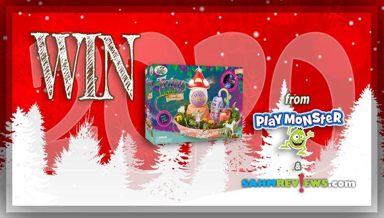 Holiday Giveaways 2020 – My Fairy Garden: Fairy Light Garden by PlayMonster