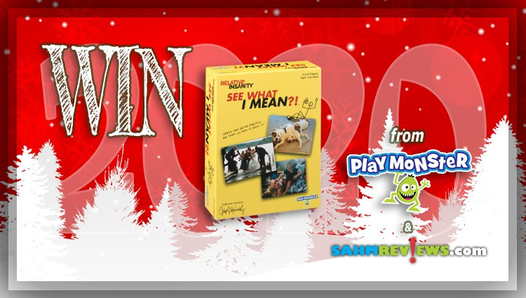 Holiday Giveaways 2020 – Relative Insanity See What I Mean Game by PlayMonster