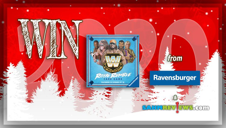 Holiday Giveaways 2020 – WWE Legends Royal Rumble Card Game by Ravensburger