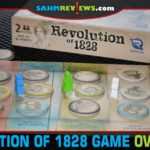 Revolution of 1828 by Renegade Game Studios is a 2-person political game about history's first smear campaign for the office of U.S. president. - SahmReviews.com